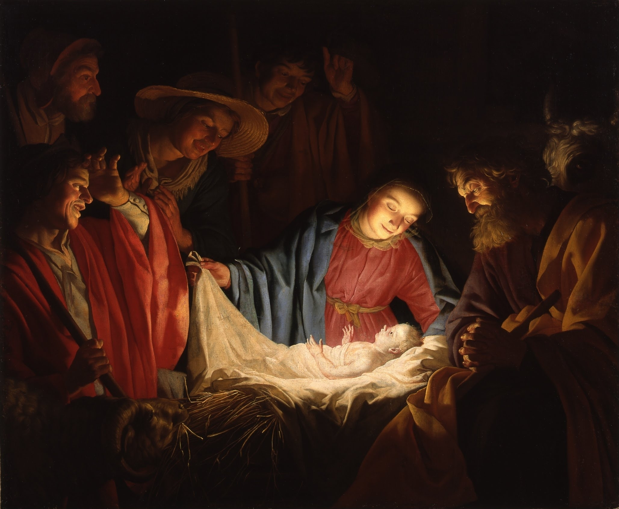 Gerard van Honthorst Adoration of the Shepherds 1622